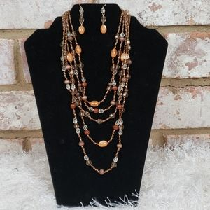 Gorgeous Necklace and Earrings